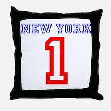 NEW YORK #1 Throw Pillow