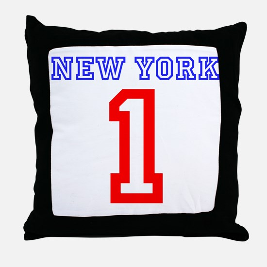 NEW YORK #1 Throw Pillow