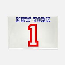 NEW YORK #1 Rectangle Magnet