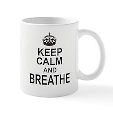 KEEP CALM and BREATHE Mugs
