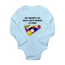 My Mommy Can Beat Your Mommy In Pool Body Suit