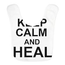 KEEP CALM and HEAL Bib