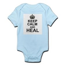 KEEP CALM and HEAL Body Suit