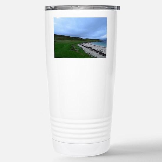 Coral Beach in Skye Sco Stainless Steel Travel Mug