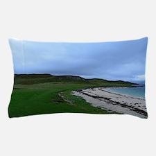 Coral Beach in Skye Scotland Pillow Case