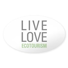 Live Love Ecotourism Decal