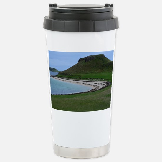 Claigan Coral Beach Stainless Steel Travel Mug