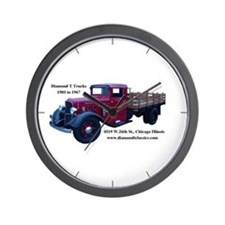 Diamond T Trucks 1905 to 1967 Wall Clock