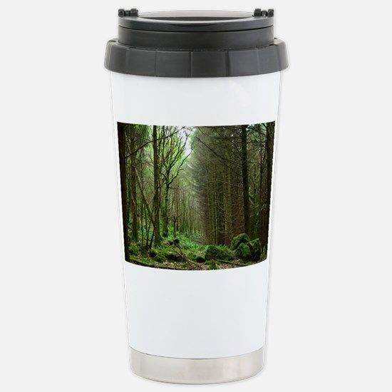 Dunvegan Forest Stainless Steel Travel Mug