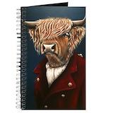 Highland cow Journals & Spiral Notebooks