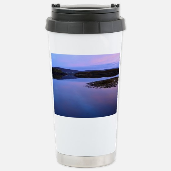 Dawn over Dunvegan Loch Stainless Steel Travel Mug
