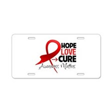 Stroke Disease Hope Aluminum License Plate