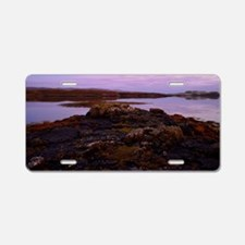 Twilight at Dunvegan on the Aluminum License Plate