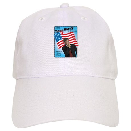 Dave Barry For President Cap