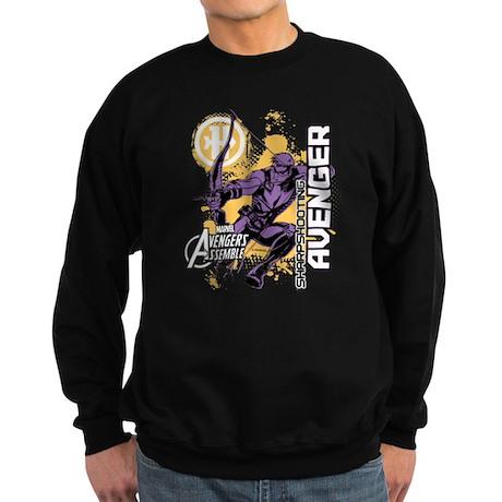 Hawkeye Sharp Shooting Avenger Sweatshirt (dark)