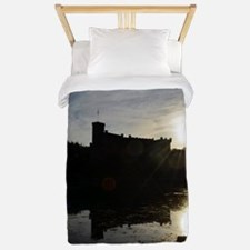 Silhouetted Dunvegan Castle Twin Duvet