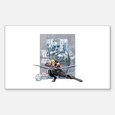 Hawkeye Aiming Decal