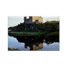 Pretty Dunvegan Castle Rectangle Magnet
