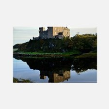 Pretty Dunvegan Castle Rectangle Magnet