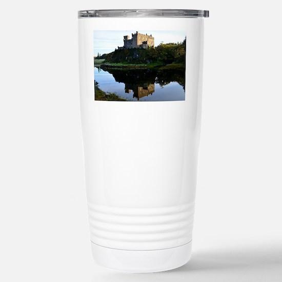 Pretty Dunvegan Castle Stainless Steel Travel Mug