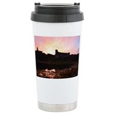 Sunrise at Dunvegan Cas Travel Coffee Mug