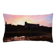 Sunrise at Dunvegan Castle Pillow Case