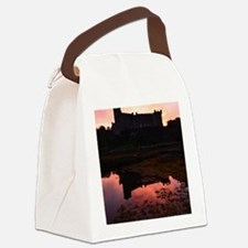 Beautiful Dunvegan Castle Canvas Lunch Bag