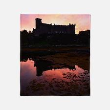 Beautiful Dunvegan Castle Throw Blanket