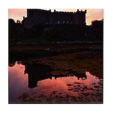 Beautiful Dunvegan Castle Tile Coaster