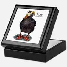 Tufted Puffin Keepsake Box