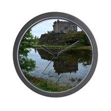 Pretty Dunvegan Castle Wall Clock