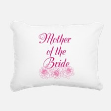 Pink Mother of the Bride Rectangular Canvas Pillow
