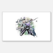 Hawkeye Grunge Decal