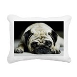 Pug Rectangle Canvas Pillows