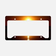 Sunset License Plate Holder
