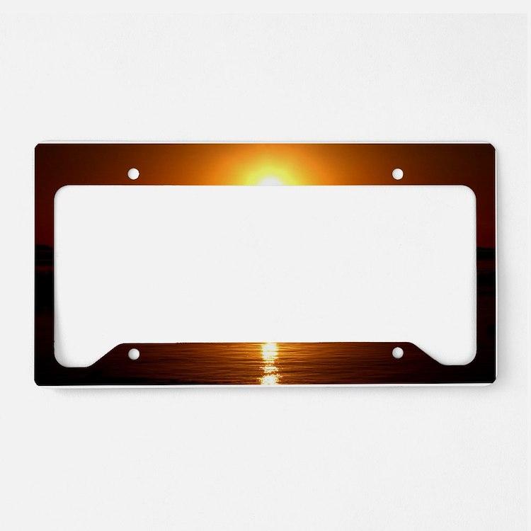 Sunset License Plate Holder