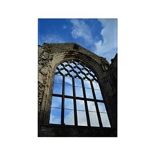 Window at Holyrood Abbey Rectangle Magnet