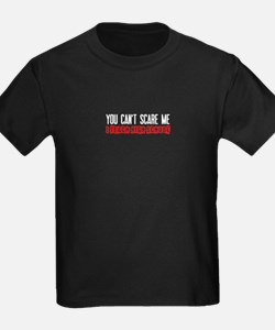 You Cant Scare Me High School T-Shirt