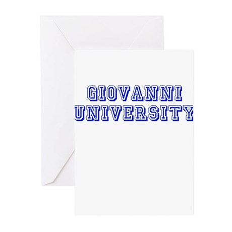 Giovanni University Greeting Cards (Pk of 10)