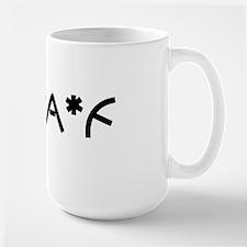 DGAF1_BLK1 Large Mug