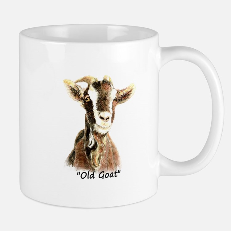 Old Goat Fun Quote for Him Mugs