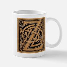 Celtic Monogram Z Mugs