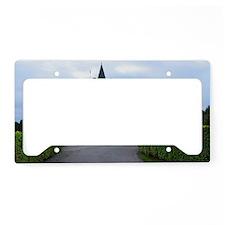 Inveraray Castle License Plate Holder
