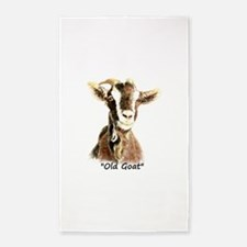 Old Goat Fun Quote for Him 3'x5' Area Rug