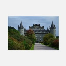 Inveraray Palace in Scotland Rectangle Magnet