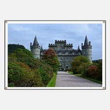 Inveraray Palace in Scotland Banner