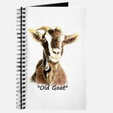 Old Goat Fun Quote For Him Journal