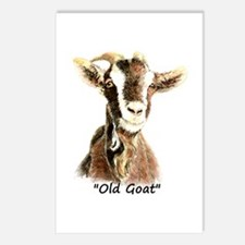 Old Goat Fun Quote For Postcards (package Of 8)
