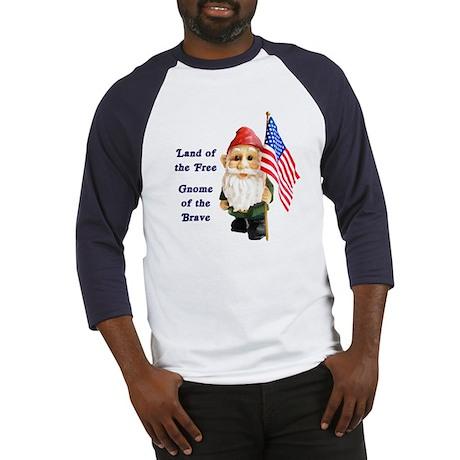 Gnome USA (w) Baseball Jersey