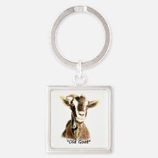 Old Goat Fun Quote For Him Keychains